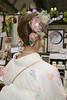 Hair Arrangement and Hair Accessories (Design Festa) Tags: designfesta designfestasummer gakuten design festa festival artfestival japanartfestival art japaneseconvention convention tokyobigsight tokyo japan kimono hairstyle japanesehairstyle hairacessories floweraccessories