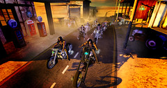 Ride Out (brie hinterland) Tags: sl secondlife 3dart bikes motorcycle desert biker