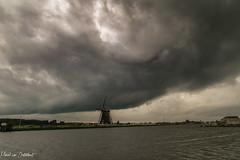 Storm 4 (M van Oosterhout) Tags: storm thunderstorm thunder lightning wind cloud clouds cloudporn sunset alphen aan den rijn dutch holland netherlands nederland groene hart noodweer weather weer rain regen