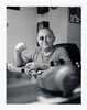 Sead Setko Kajević (Ognjen Lopusina) Tags: prijepolje polaroid600se polaroid blackandwhite fuji3000b expiredfilm mamiya127mm47 watchmaker
