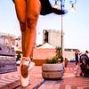 Questo e' quello che succede quando una semplice foto si arricchisce della bravura di una ballerina professionista... Grazie @elisa_ballo (nicoladoro) Tags: bastione santacroce cagliari instagram ballet ballerina dance followme likeforlike likeforfollow sardegna torredellelefante libarium