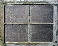 Worn & Weathered Window (maytag97) Tags: maytag97 nikon d750 window pane weathered dirty glass wood wooden faded green paint