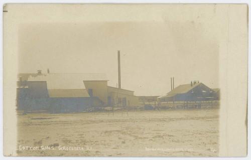 Cotton Gins. Groesbeck, Tex.