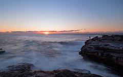 little bay (bart.kwasnicki) Tags: sunrise ocean longexposure australia landscape sun