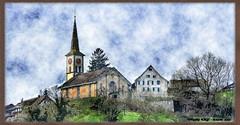 buchberg-ruedl-57A-21032017_10'32 (eduard43) Tags: kirche church buchberg dorf village schaffhausen schweiz wasserfarben watercolors 2017 landschaft landscape eb