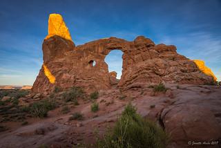 Turret Arch morning light