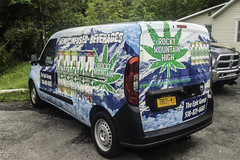 Rocky Mountain High (ezguy1) Tags: vacation ny upstate car vehicle automobile commercial van marijuana weed drink cannabis dank