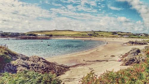 Rhoscolyn beach.