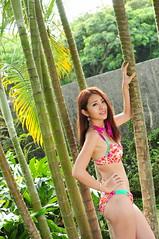 Sherry0016 (Mike (JPG直出~ 這就是我的忍道XD)) Tags: sherry 自來水博物館 d300 model beauty 外拍 portrait 2014 swimsuit 泳裝