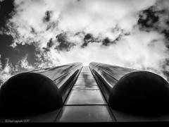 Tubular (amipal) Tags: 175mm architecture building capital city clouds england gb greatbritain london manuallens sky uk unitedkingdom upshot urban voigtlander