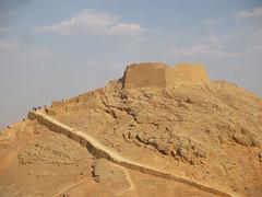 Yadz - Tower of Silence (Chiara Cst) Tags: yadz iran tower architecture silence zoroastrian