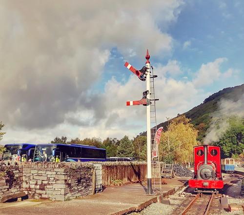 Gilfach Ddu station.