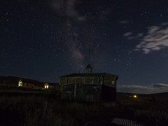 P8264061 (whyworry2010) Tags: bodie ghosttown night stars california statepark ruins