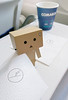 Danbo on the flight (Steve only) Tags: sony xperia xcompact cellphone snap danbo 阿楞 ダンボー germany