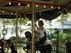 Clarisel On a Carousel (smaginnis11565) Tags: carousel merrygoround clariselgonzalez carouselhorse militarypark newark newjersey essexcounty chambersfamilycarousel
