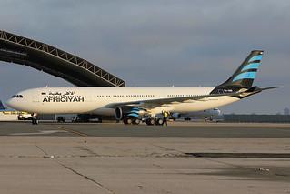 5A-ONR   Airbus A330-302   Afriqiyah Airways
