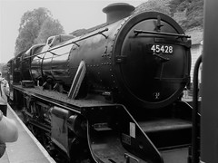 Eric Treacy (daveandlyn1) Tags: steam black5 erictreacy nymr railwayheritage s9100 coolpix nikon