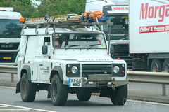 Land Rover Western Power Distribution FP60 WXD (SR Photos Torksey) Tags: road transport vehicle land rover defender 4x4 commercial western power electricity