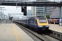 """First Great Western Blue Class 43, 43069 (37190 """"Dalzell"""") Tags: fgw firstgreatwestern blue firstgroup brelcrewe intercity125 hst highspeedtrain class43 43069 reading"""