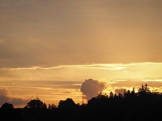 © Sunset Clouds Sky Summer Bavaria Germany Europe – Sonnenuntergang Wolken Sommer Bayern Oberbayern