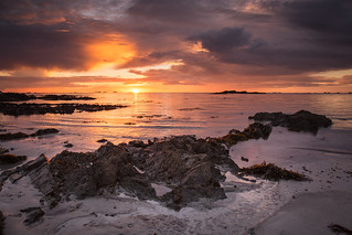 Stormy Sunset @ L'Eree