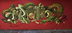 Krol • Ima (HBA_JIJO) Tags: streetart urban graffiti art france hbajijo wall mur painting letters aerosol peinture lettrage friche lettres lettring writer dragon abandoned spray mural bombing urbain urbaine culture imager