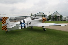 G-BDWM Bonsall DB-1 Mustang Replica (nickthebee) Tags: laarally2017 sywell aircraft gbdwm bonsall db1 mustang 414673