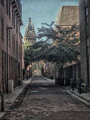 Leeds (_J @BRX) Tags: leeds yorkshire england uk building sky hdr filter iphone summer august 2017 townhall clock street