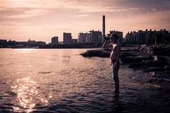 Sipping (andy.meanwhiler) Tags: helsinki finland dslr canon700d sip beer beach eira man enjoy summer sun water drink landscape cityscape eiran ranta chill hang out outdoor good times vintage