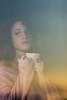 Il sole nascerà, dietro la tua finestra chiusa, il sole nascerà... (LuxTDG) Tags: ritratto portrait occhi eyes see closeup primo piano modella model giovane ragazza young lady girl labbra rosse lips bambola doll ora dorata golden hour tramonto sunset alba sunrise bellezza charm capelli ricci rossi mossi curly red hair raggi di sole sunbeams sun orecchini perle pearl earrings spalla scoperta shoulder unclothed freddo cold wintry winterly tazza tè cup tea window
