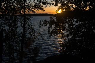 Lake Kukkia Sunset