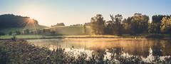 iDylle (--StadtKind--) Tags: landschaft landscape sunrise bavaria kempten germany lake see hills woods dawn zeiss sonyilce7m2 sonyfe16354zaoss teamsony stadtkind