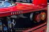 Red-Ferrari-F40-sports-car-in-sydney-by-la-lente-photography-rear-lights (Paul D'Ambra - Australia) Tags: car red ferrari sportscar redsportscar redferrari vehicle motorvehicle redf40