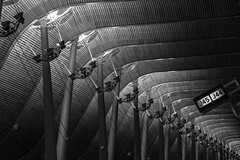 T4 (Photograaff) Tags: airport spain t4 madridbarajas abstract architecture madrid bw terminal pillar structure