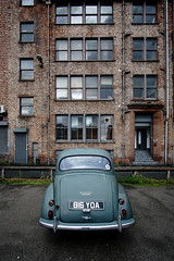 Manchester Minor (nickcoates74) Tags: a6000 ilce6000 manchester september sony morris uk minor ancoats northernquarter car samyang 12mm 12mmf20