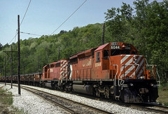 Kind of Like Now only Better (ac1756) Tags: cp canadianpacific cpr cprail emd sd402 6044 incospur levack ontario canada