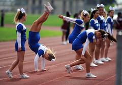 plainvillefootball-br-091717_5882 (newspaper_guy Mike Orazzi) Tags: bulkeleyhighschool plainvillehighschool bluedevil football hartford ct 300mmf28dii d3 nikon sport sports cheerleader cheerleaders