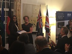"""Charlie Perkins and Roberta Sykes scholarship recipients, British High Commissioners Residence, Canberra, 17/08/2017 • <a style=""""font-size:0.8em;"""" href=""""http://www.flickr.com/photos/33569604@N03/37172211036/"""" target=""""_blank"""">View on Flickr</a>"""