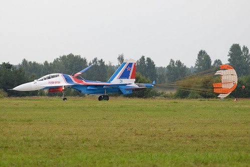 Sukhoi Su-30SM 'RF-81702 / 31 blue'