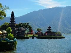 Ulun Danu Temple (stardex) Tags: ulundanu temple heritage culture religion lake mountain architecture building bali indonesia