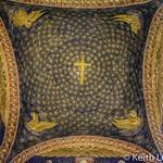 Galla Placidias mausoleum. The roof mosaics thumbnail