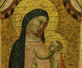 Mary and Christ child  -- HMM!