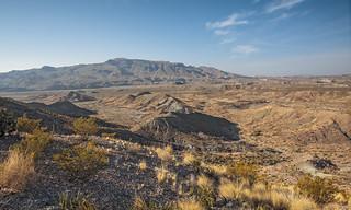 Mariscal Mountains, Black Gap Road, Big Bend National Park