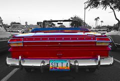Persuasion (oybay©) Tags: studebaker car automobile lark studebakerlark convertible unusual color colors red glendale arizona mixteca coolcar