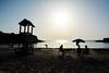 Estate - Summer. (sinetempore) Tags: estate summer salento puglia mare sea torresantandrea gente persone people spiaggia beach luce light ombra shadow sole sun ombrellone sabbia sand