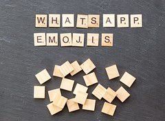 WhatsApp verbietet bald bestimmte Emojis (marcoverch) Tags: noperson keineperson text business geschäft sign schild paper papier education bildung desktop symbol display anzeigen finance finanzen illustration cube würfel alphabet solution lösung achievement leistung conceptual begrifflich texture textur abstract abstrakt shape gestalten strategy strategie konzeptionell cathedral spring fuji la macromondays analog pumpkin pentax catwa naturaleza