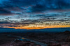 All Set for Sunrise (tquist24) Tags: hdr lakemead nikon nikond5300 valleyoffirestatepark clouds color desert geotagged light longexposure moon morning mountains park road sky sunrise nevada unitedstates
