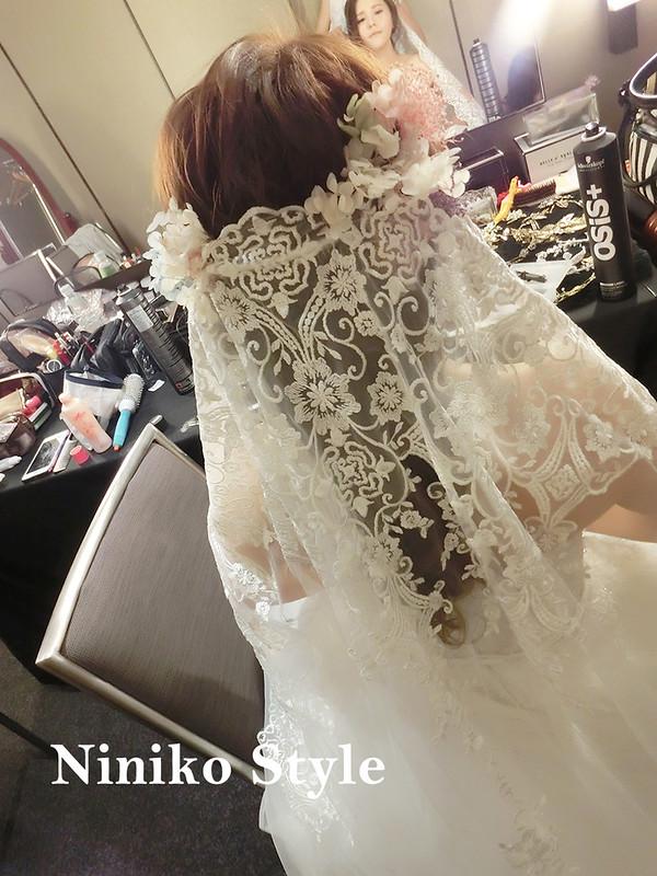 婚紗,髮型,2017,新娘,髮飾,婚宴,頭紗,飯店,晶華