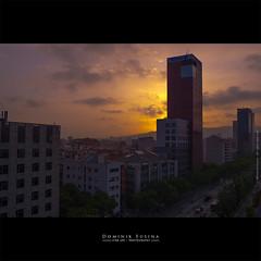 Close to Arena | Barcelona (dominikfoto) Tags: barcelone architecture sunset coucherdesoleil immeubles building city ville fusina fusinadominik barcelona