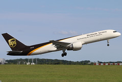 N431UP_02 (GH@BHD) Tags: n431up boeing 757 757200 b757 b75f b752 up ups upsairlines unitedparcelservice stn egss stanstedairport londonstanstedairport airliner aircraft aviation freighter cargo